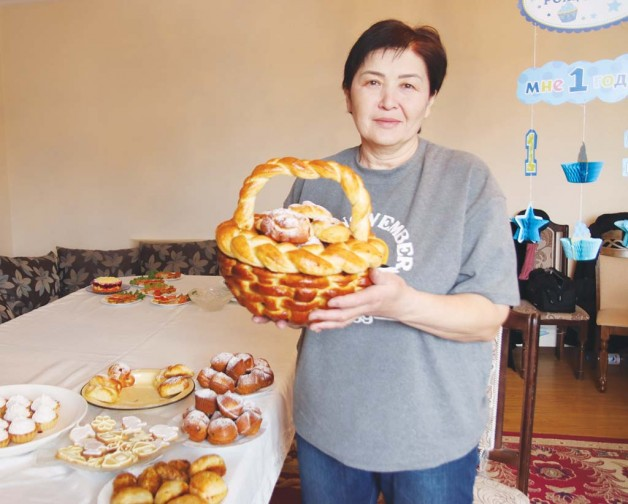 Подполковник в отставке печет пироги