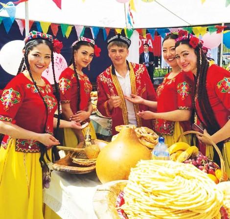 Особенности Навруза у уйгуров