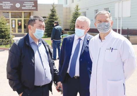 Акцент – на работу  межрайонной больницы