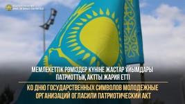 Ко Дню государственных символов молодежные организации огласили Патриотический акт