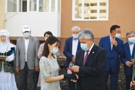 Алматы облысында 200-дей  отбасы жаңа баспанаға ие болды