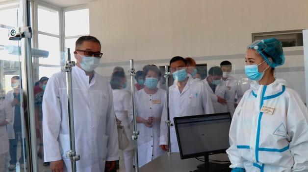 В Карасайской больнице открыты одно модернизированное и два новых отделения