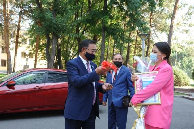 Талдыкорганка Рухия Байдукенова поблагодарила земляков за поддержку