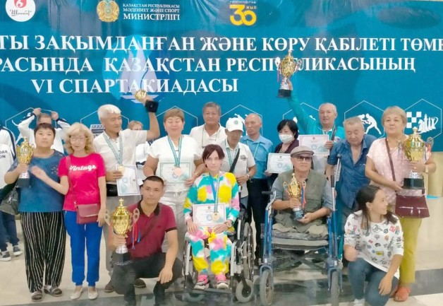 Победы карасайских  спортсменов-инвалидов