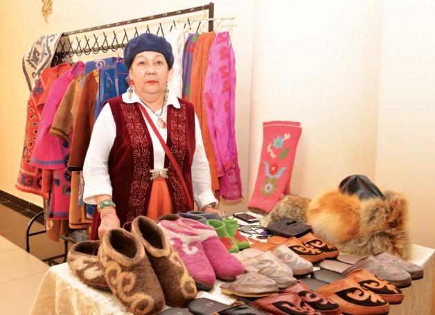 Рукодельница из Райымбека