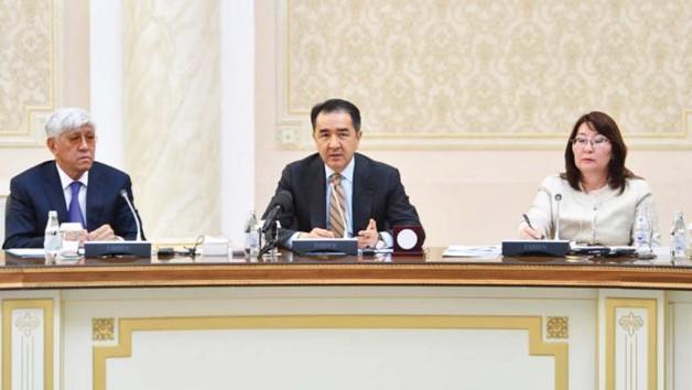 Визит в Талдыкорган Премьер-Министра