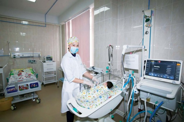 Открыт центр неонатальной хирургии