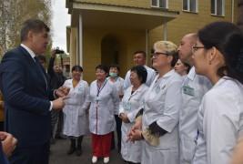 Больница Текели соответствует стандартам