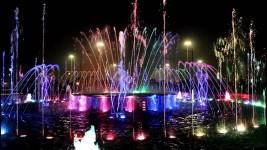 Добро пожаловать на фестиваль фонтанов(видео)