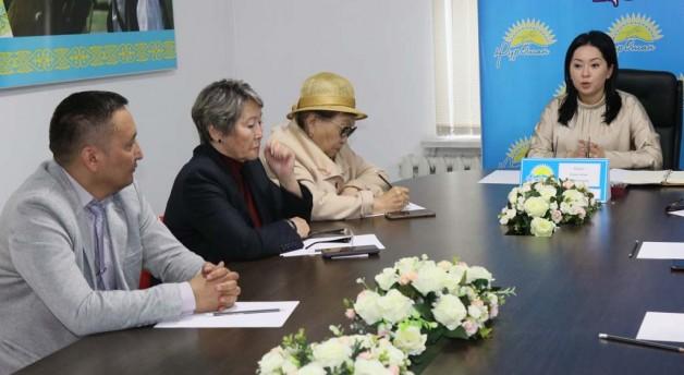 «Nur Otan» партиясынан ҚР Президенттігіне кандидаттың сайлауалды штабы құрылды