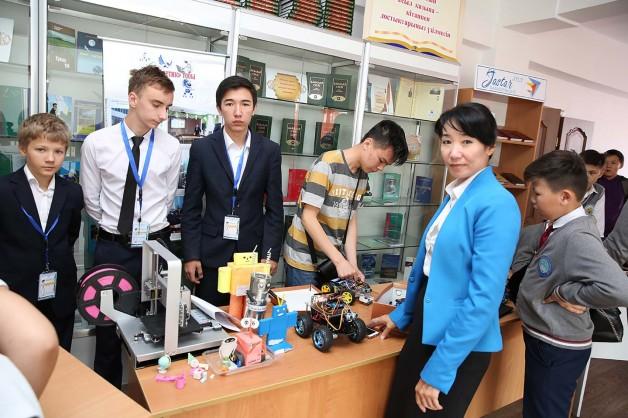 «Kaskelen open cup» робототехникалары