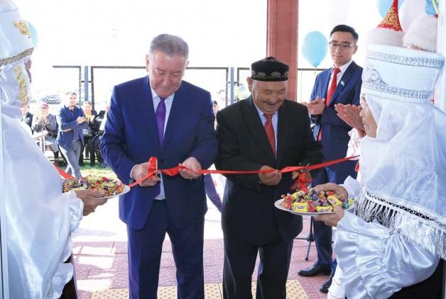 Новая амбулатория в селе Батан