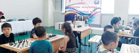 Шахматтан өткен ашық турнирде