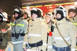 На рынке «Алтын Орда» был потушен условный пожар