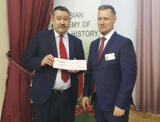 Почетные звания Талгата Байтилеуова