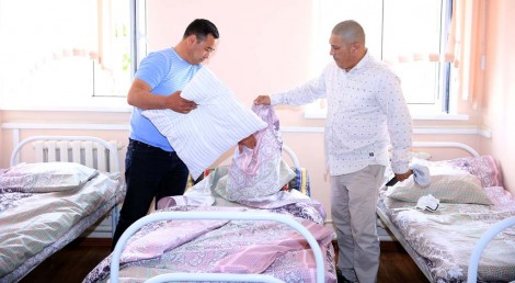 Оказали поддержку кроватями и постельными комплектами