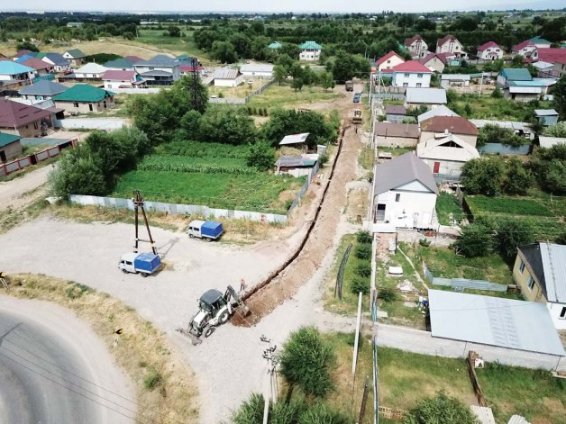Бекболат, Жандосов ауылдары ауыз судан тапшылық көрмейтін болады