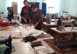10000 масок за время карантина пошило малое предприятие в Талдыкоргане