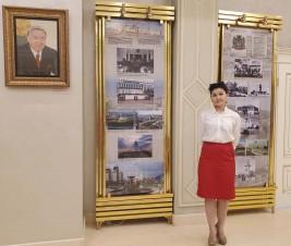 Фрагменты Нур-Султана в центре «Атамекен»