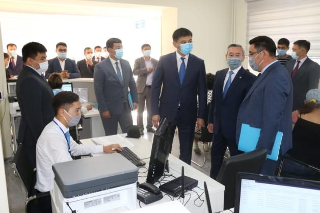 Очередной сервисный акимат открылся в Алматинской области