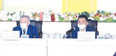 «Nur Otan» партиясы Қарасай аудандық филиалының кезектен тыс XXX конференциясы