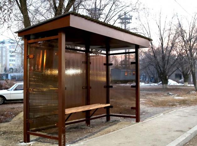 В Каскелене установлены автобусные остановки