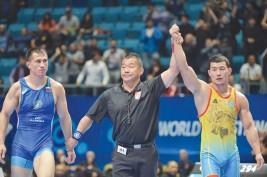 Выиграл путевку на олимпийские игры в Токио