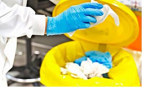 Медицинские отходы: алгоритм временного хранения и сдачи на утилизацию
